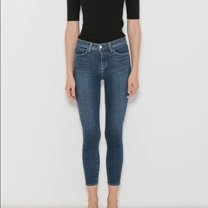 L'AGENCE Margot High Rise Skinny in Dark Vintage